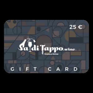 SadiTappo Gift Card - 25 euro