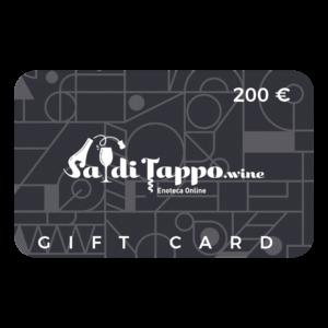 SadiTappo Gift Card - 200 euro