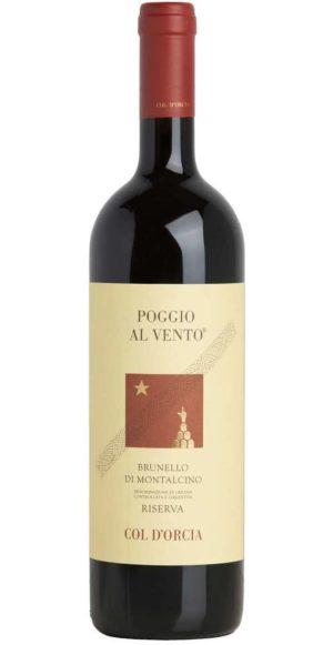 POGGIO AL VENTO BRUNELLO DI MONTALCINO DOCG RISERVA 2012 - COL D'ORCIA